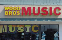 Wood Bros Music Storefront